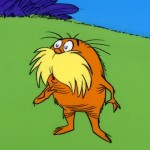 Dr. Seuss's Lorax. The spider's better groomed, in my opinion.