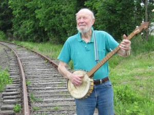 """If I had a hammer ... I'd hammer on the spiders ..."" Meanwhile, Pete Seegers wonders, ""Where have all the spiders gone?"""